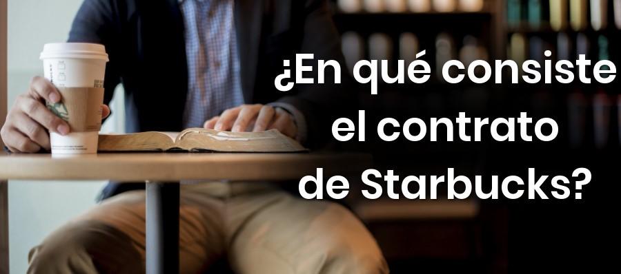 ¿En qué consiste el contrato de franquicia de Starbucks?