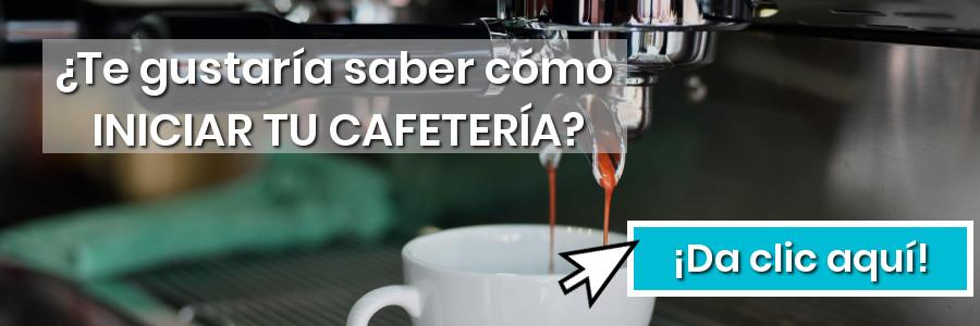 Empezar una cafetería